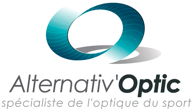Alternativ Optic opticien sport Logo triangle