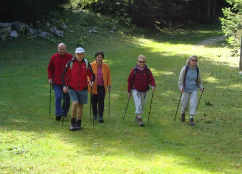 Nordic Walking au Semnoz